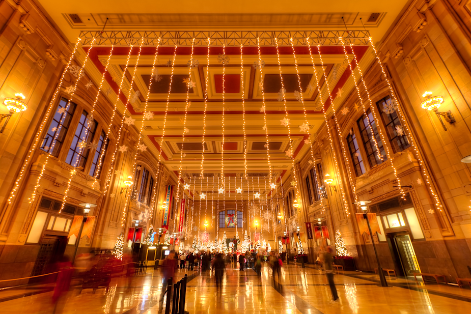 Union station 39 s christmas decor photoblog for Home decor kansas city