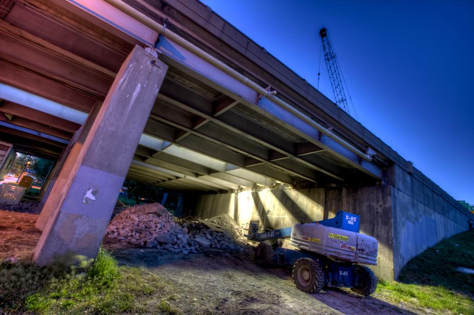 I-35 undergoing repairs