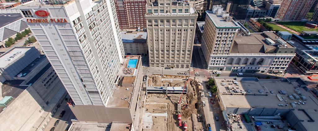 Power and Light Building Construction Kansas City