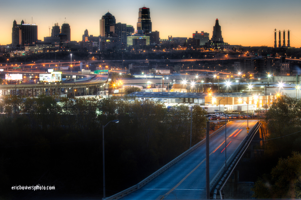 City Skyline at Sunrise - Kansas City MO - Photoblog