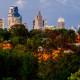 Downtown Kansas City Skyline Panorama Photography