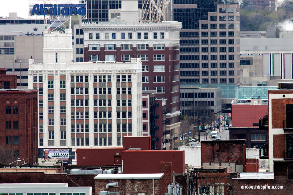 Old Building Density of KC Crossroads District