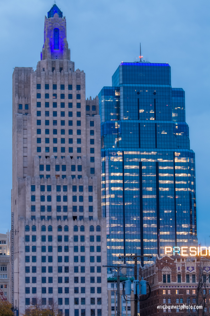 Kansas City's Royal Blue Buildings