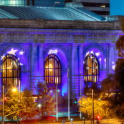 Kansas City Union Station in Royal Bluei