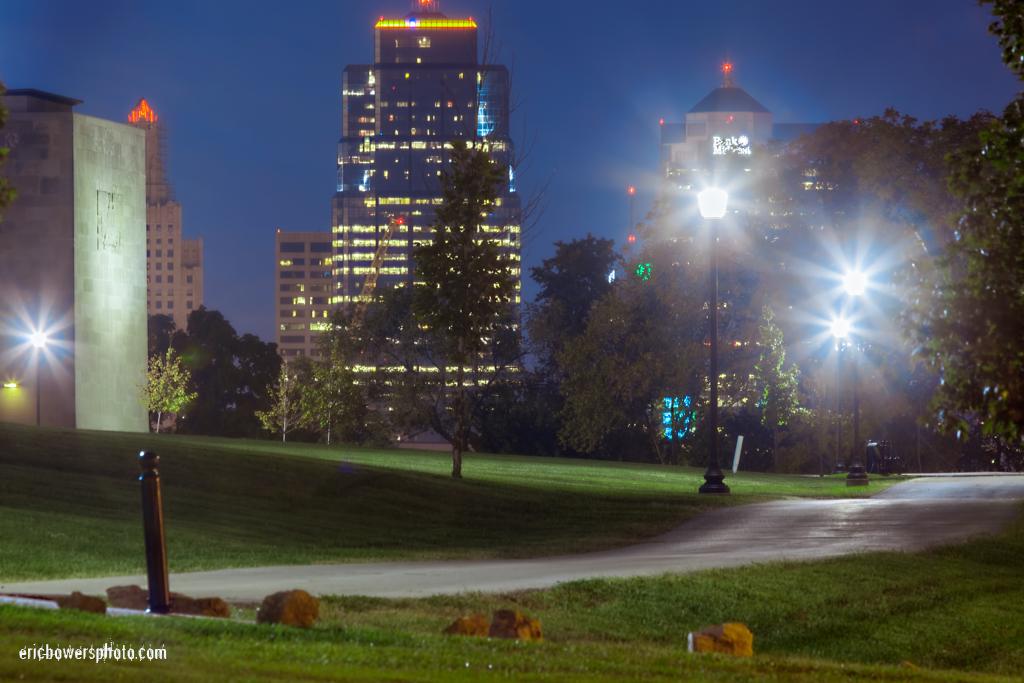 Kansas City Skyline View