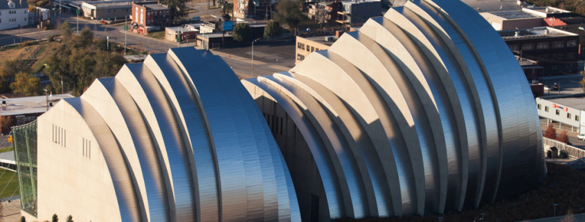 North Facade of Kauffman Center in Kansas City