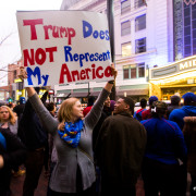 Kansas City's Protest of Donald Trump Rally