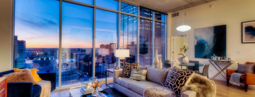 KC One Light Tower Interior Apartment Unit Photos