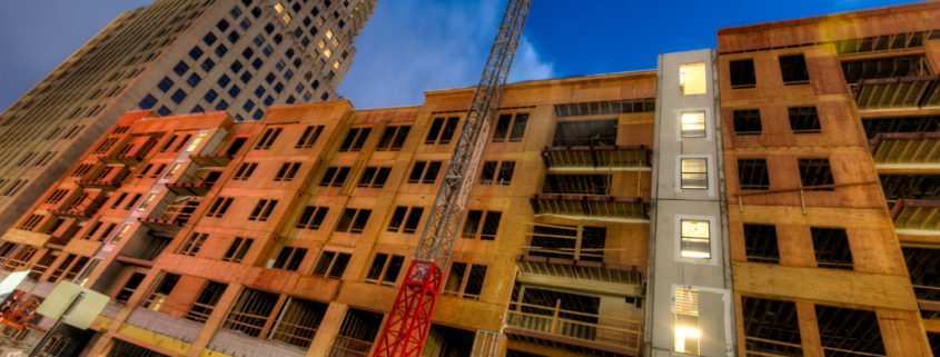 New Residential Construction in Downtown Kansas City