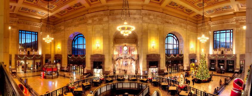Kansas City Union Station Interior Panorama Pic
