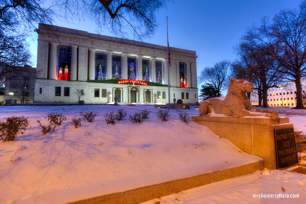 Kansas City Life Insurance Company Winter Pics