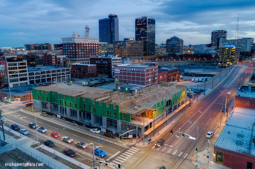 KC Crossroads District Hotel Property Construction