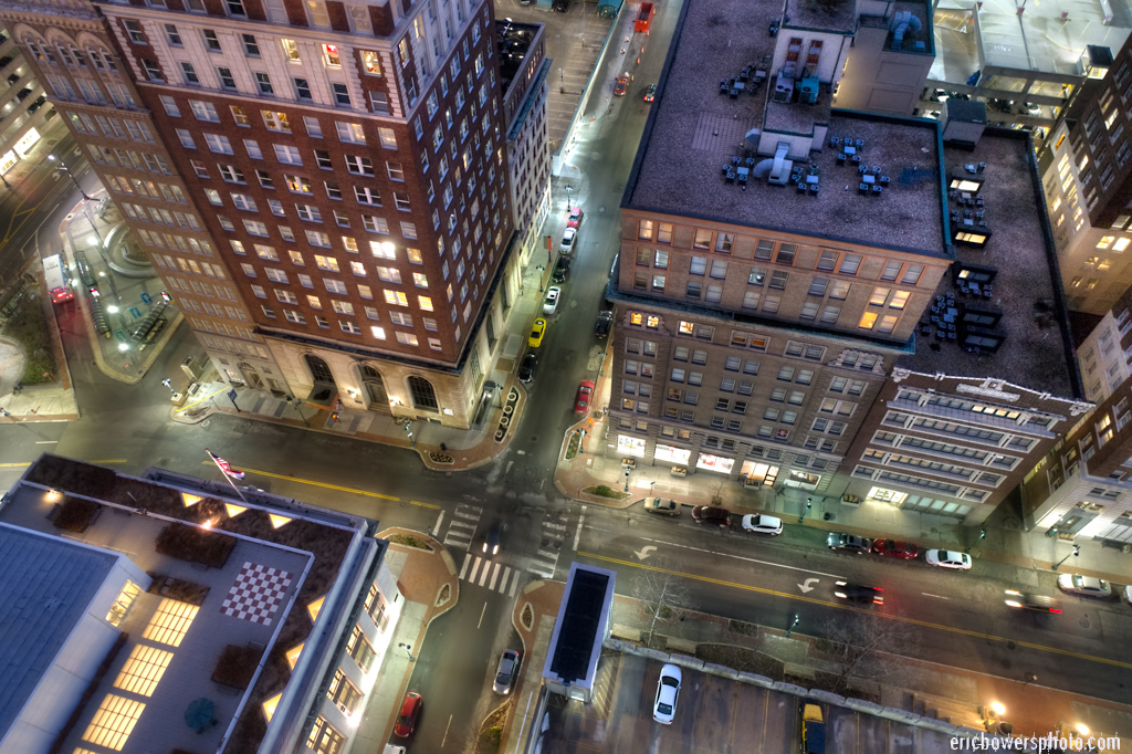 Urban Drone Photos of Kansas City's Downtown Architecture