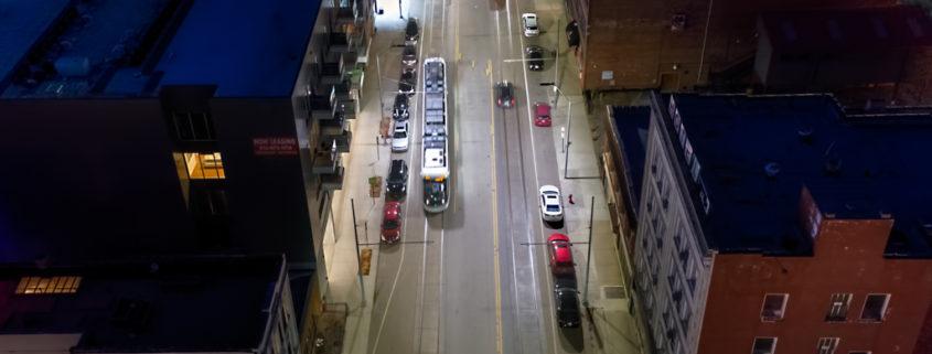 Evening Time Kansas City Street View