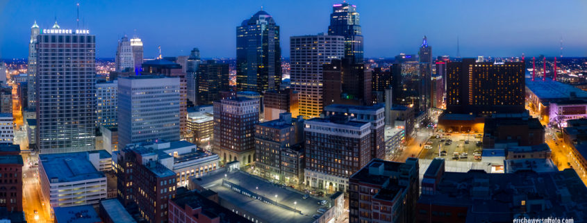 Kansas City Drone Aerial Panoramas