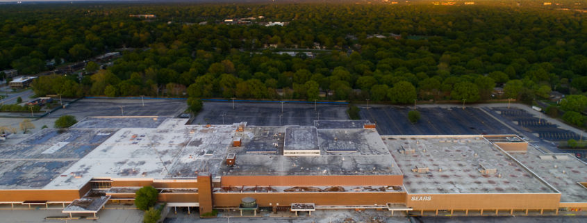 Metcalf South Mall Demolition Underway in Overland Park, KS