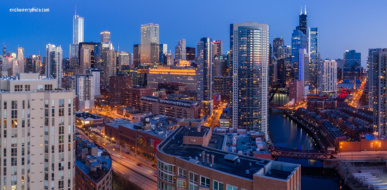 Chicago City Skyline Aerial Photos Pt 3