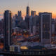 Chicago City Skyline Aerial Photos Pt 2
