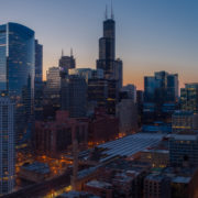 Chicago City Skyline Aerial Photos Pt 8