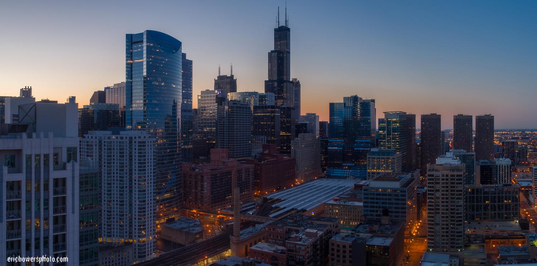Chicago City Skyline Aerial Photos Pt 8