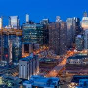 Chicago City Skyline Aerial Photos Pt 11