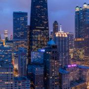Chicago City Skyline Aerial Photos Pt 10