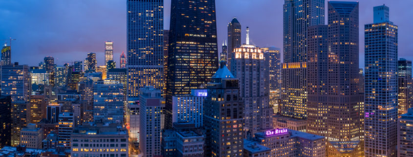 Chicago City Skyline Aerial Photos Pt 10