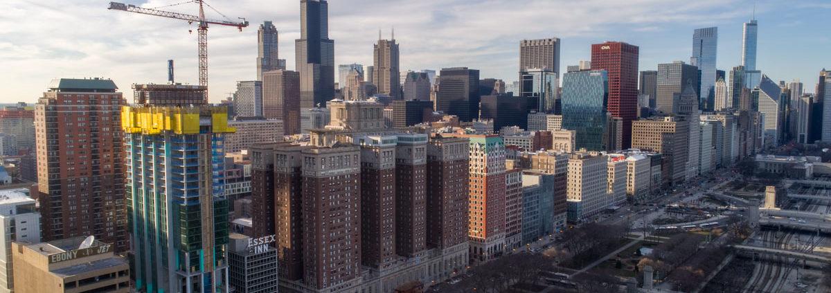 Chicago Essex On The Park Construction Pt 2