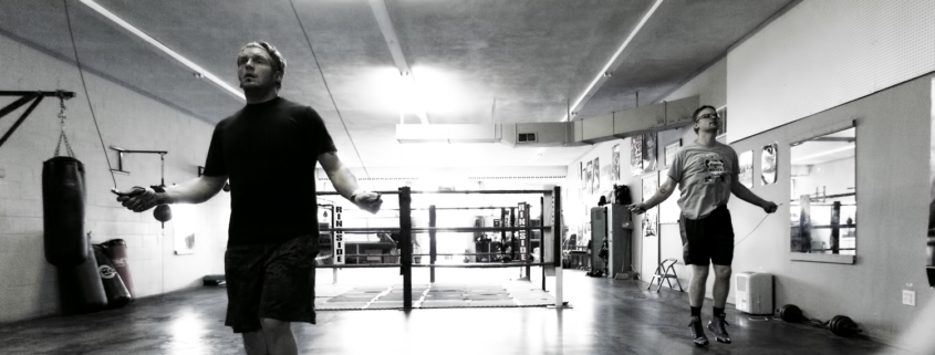 Boxing Gym Scenes Part 3