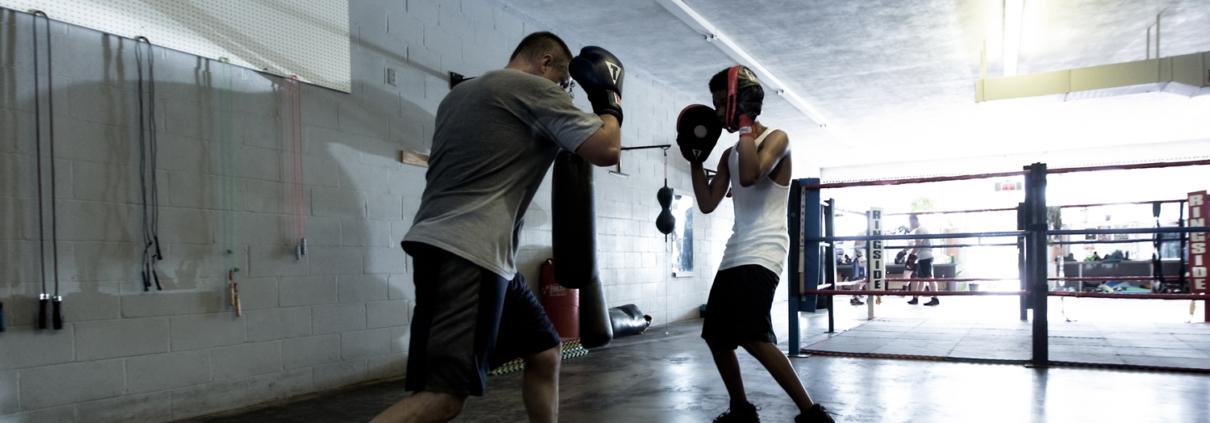 Boxing Gym Scenes Part 11