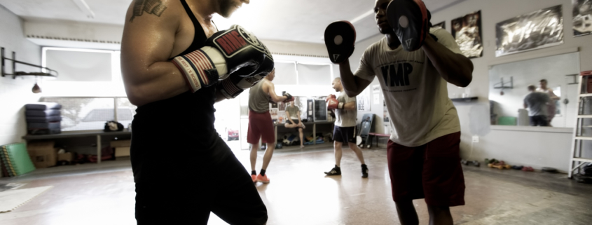 Boxing Gym Scenes Part 13