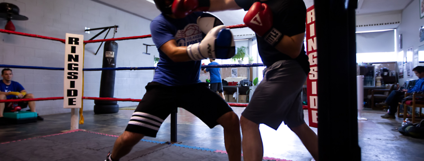 Boxing Gym Scenes Part 16