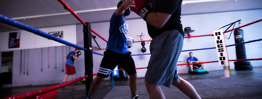 Boxing Gym Scenes Part 15