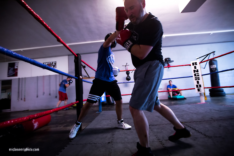 Boxing Gym Scenes Part 15