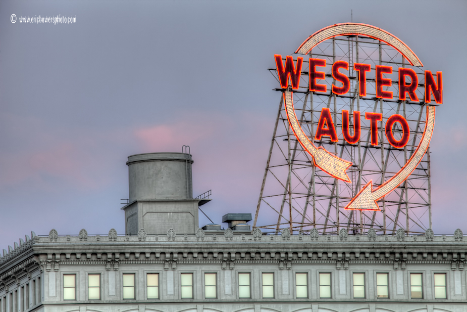 Western Auto Sign Archives Eric Bowers Photoblog