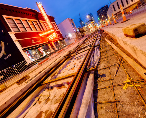 KC Streetcar Construction Progress