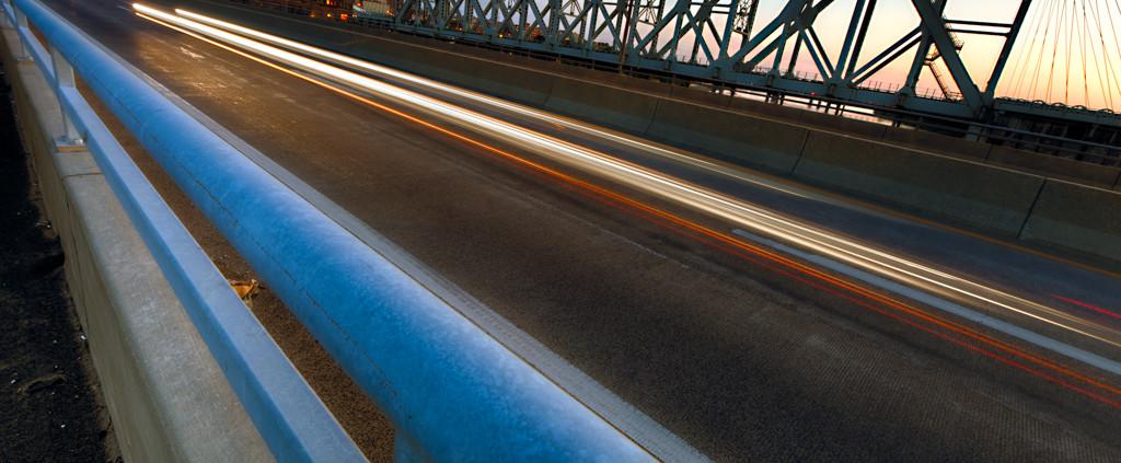 Kansas City's ASB Bridge at Dusk