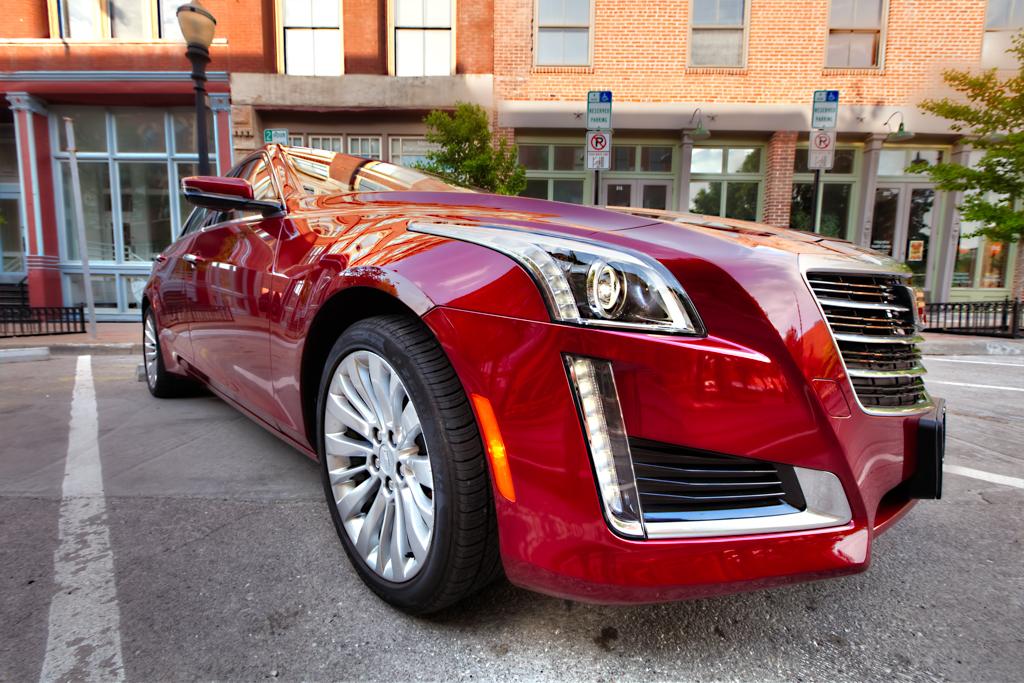 Car Photography: New 2015 Cadillac CTS