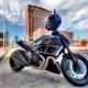 Ducati Testratretta II motorcycle parked city street