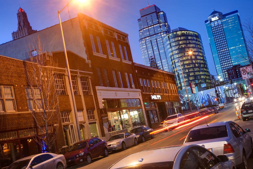Downtown KC Traffic Motion