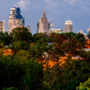 Downtown Kansas City Skyline Panorama Photography