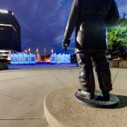 Kansas City Firefighters Memorial Fountain