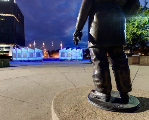 Kansas City Firefighters Memorial Fountain