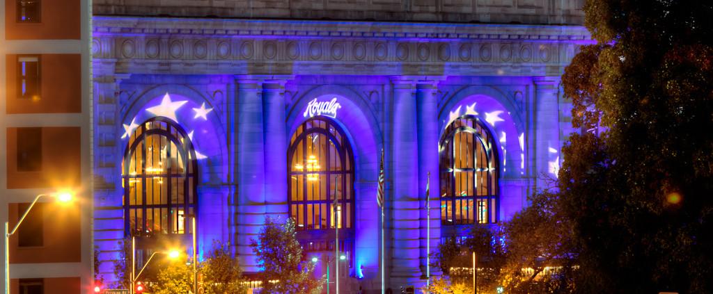 Kansas City Union Station in Royal Bluei