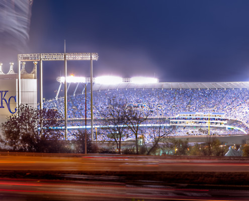 Kauffman Stadium Panorama - KC Royals