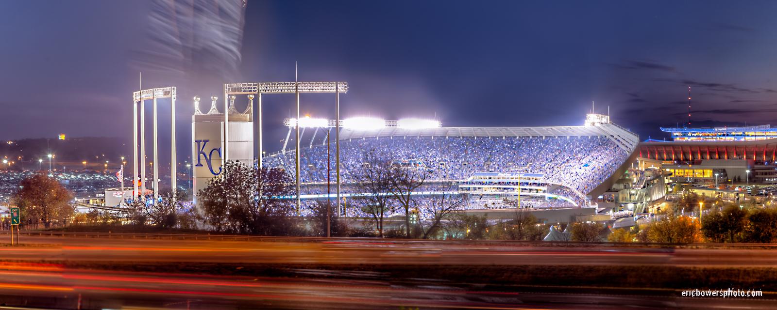 Kauffman Stadium Panorama - KC Royals