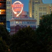 Kansas City's Western Auto Sign