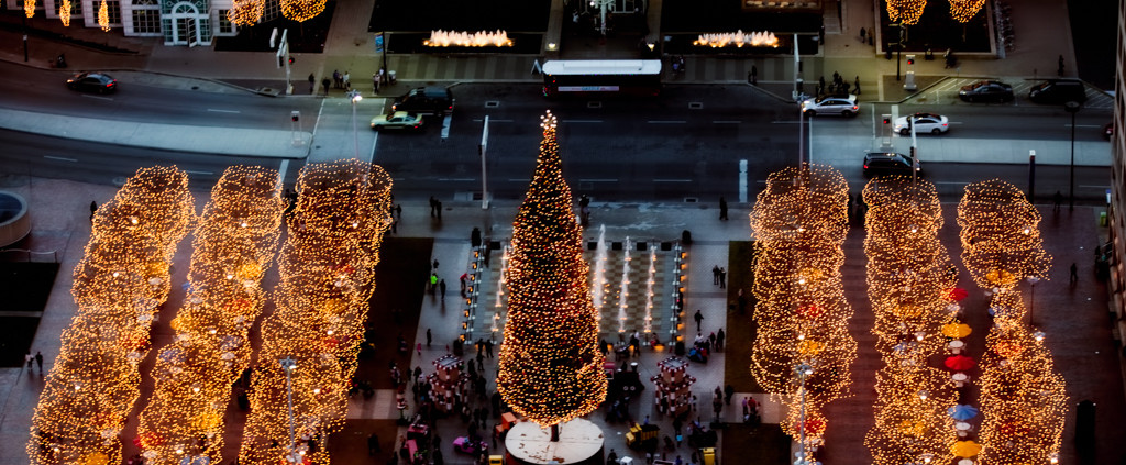 Kansas City Mayor's Christmas Tree Crown Center