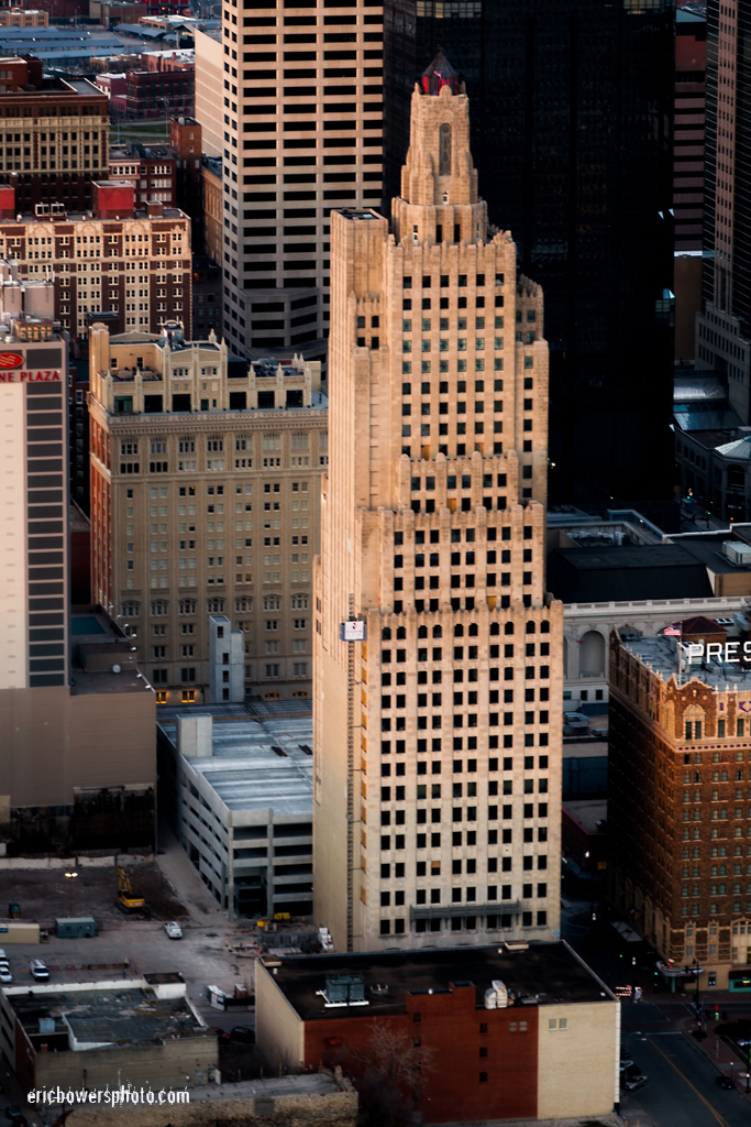 KC Power & Light Building Aerial View