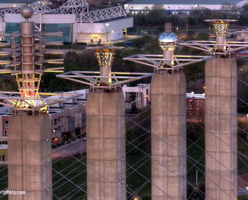 Kansas City Skystations and Kemper Arena